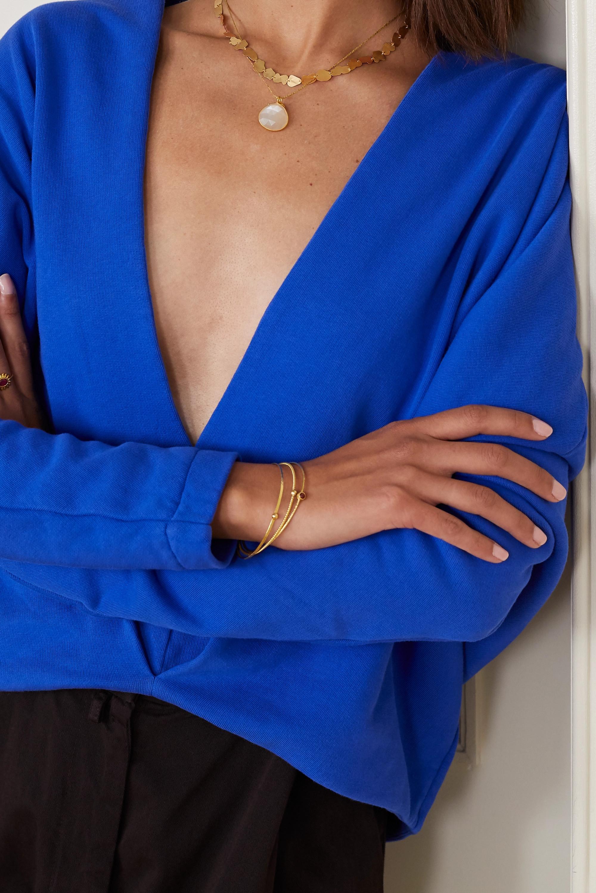 Pippa Small + NET SUSTAIN 18-karat gold necklace