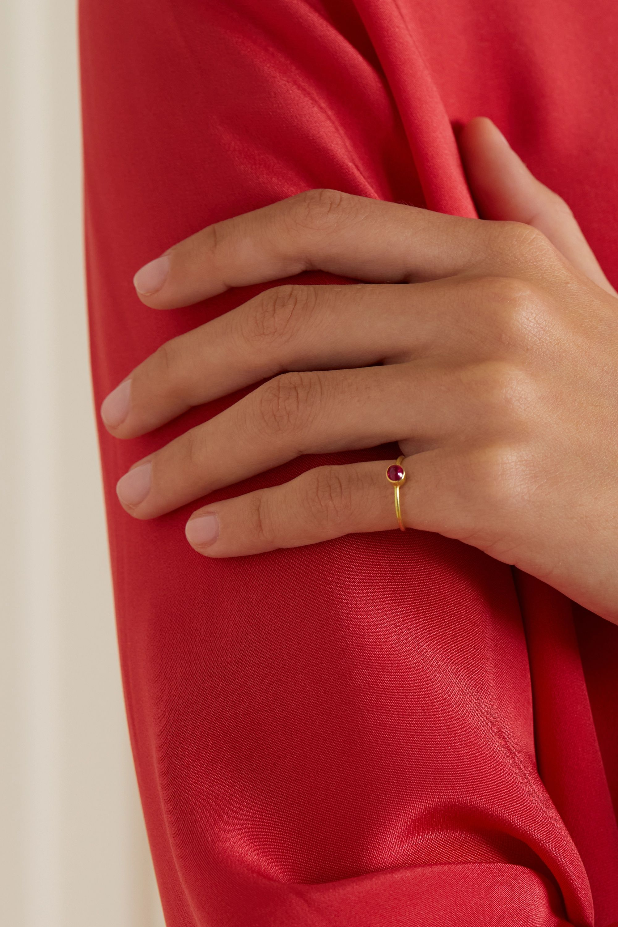 Pippa Small + NET SUSTAIN 18-karat gold spinel ring