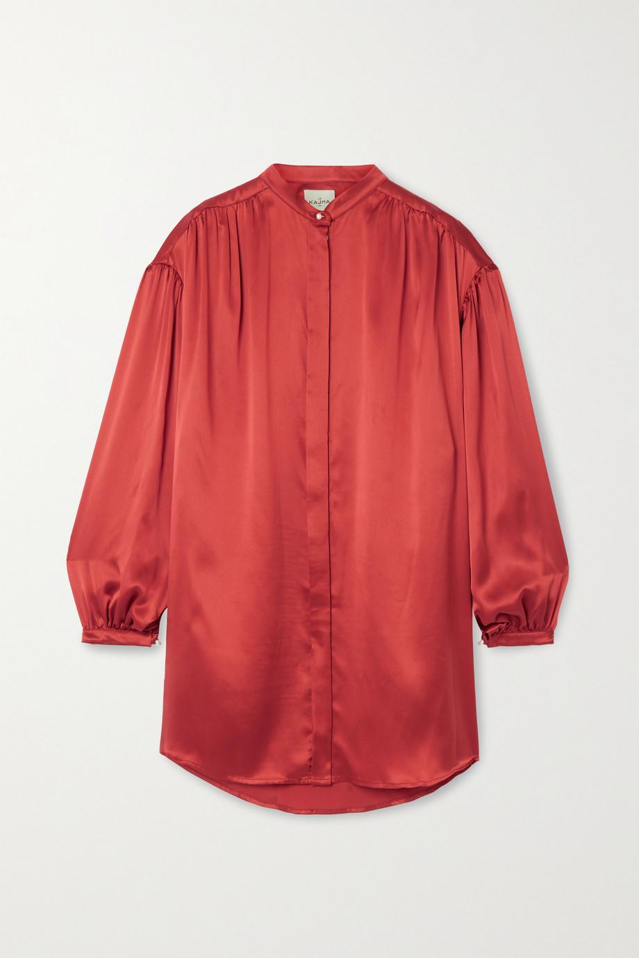 Le Kasha Nara silk-satin blouse