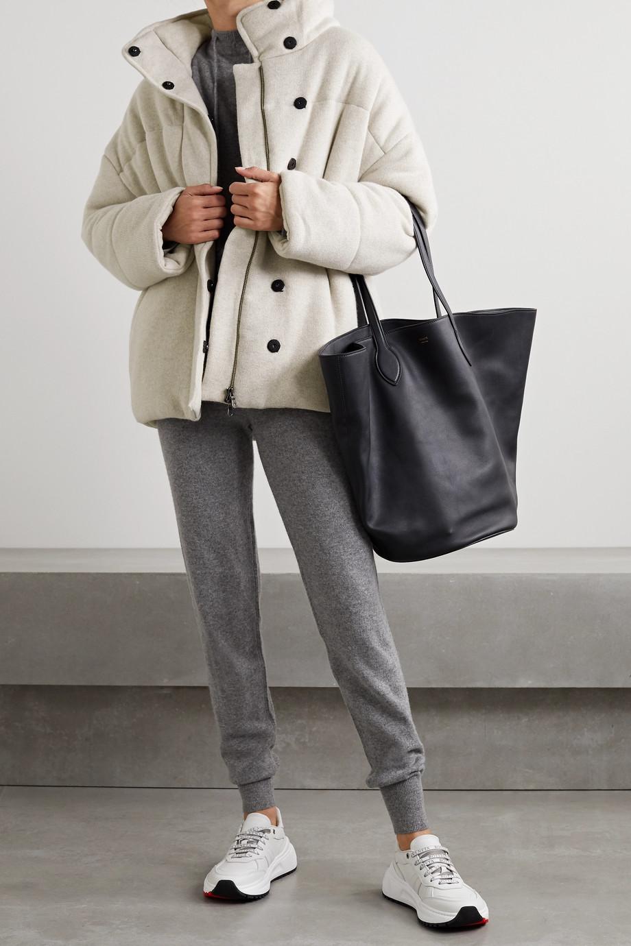 Le Kasha Dillon quilted cashmere jacket