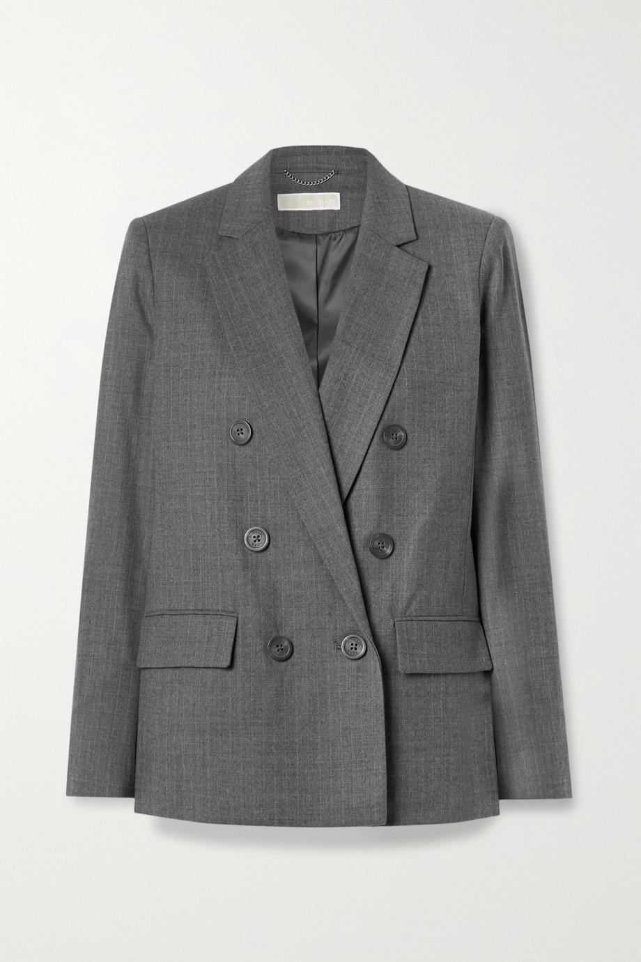 MICHAEL Michael Kors Blazer à double boutonnage en laine mélangée