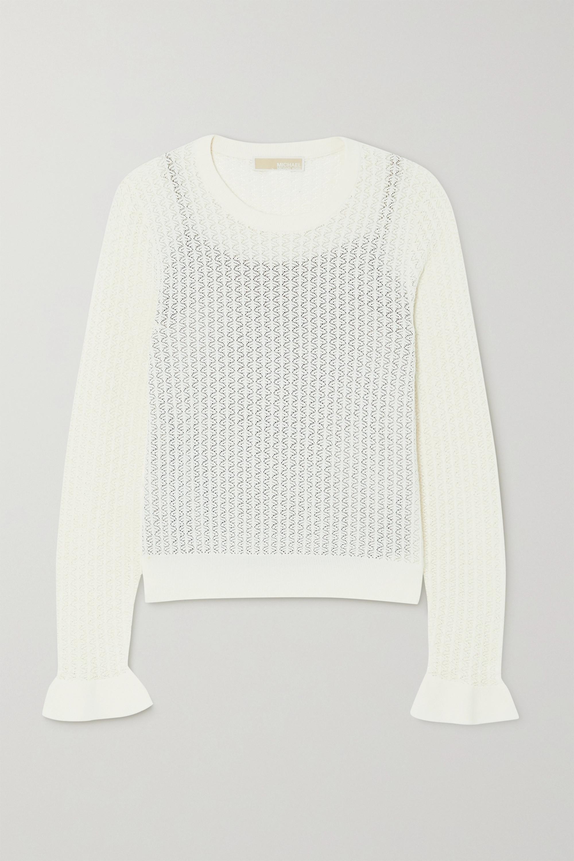 Crotchet knit top