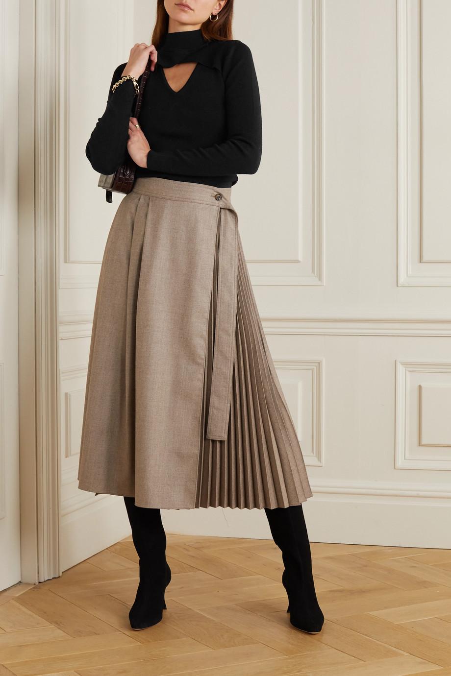 MICHAEL Michael Kors Cutout ribbed merino wool-blend sweater