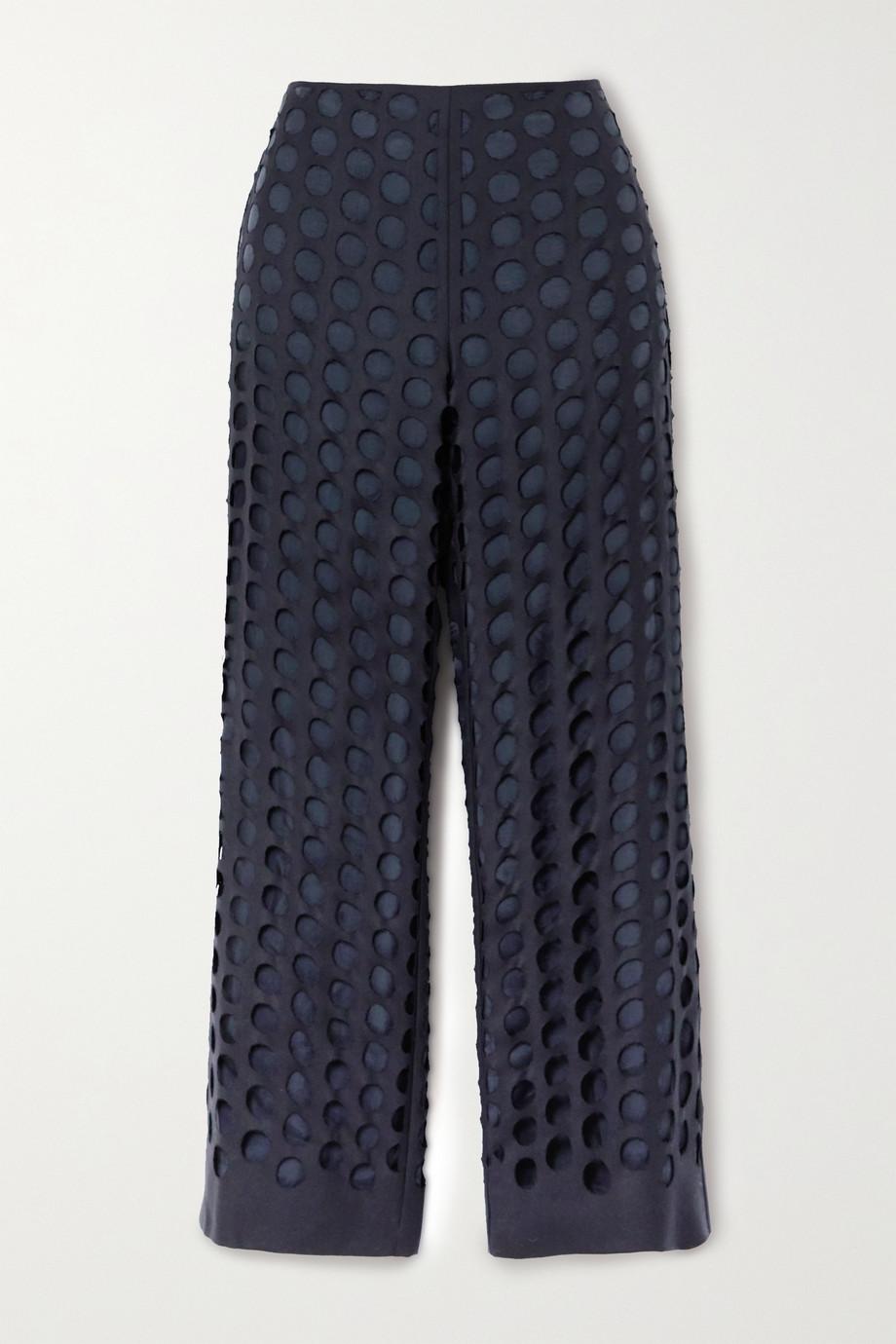 Maison Margiela Distressed woven pants