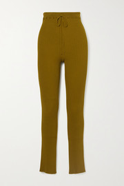 Marques' Almeida Ribbed-knit slim-leg pants