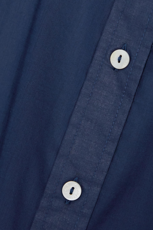 Pour Les Femmes Crochet-trimmed cotton-voile pajama set