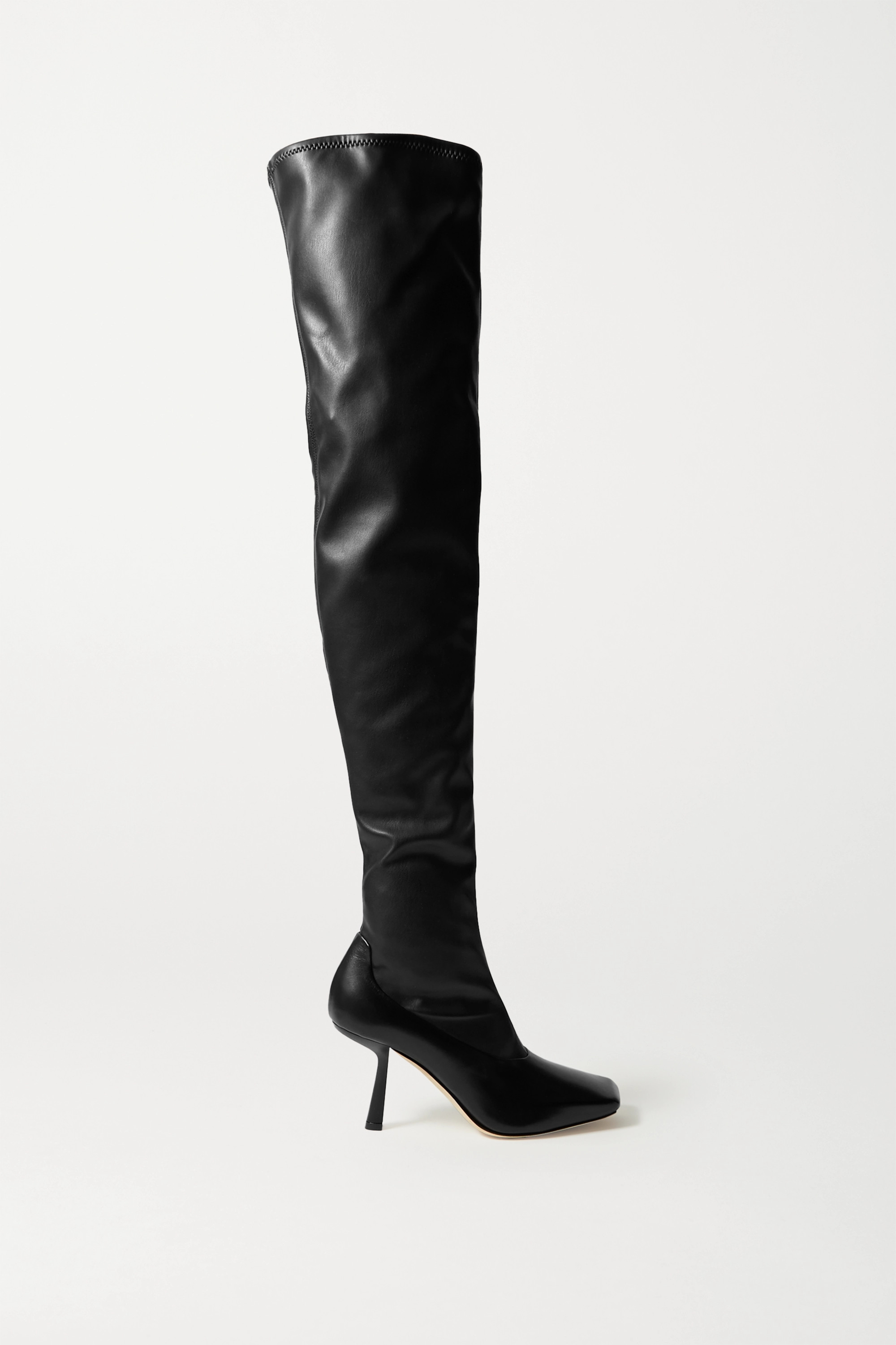 Jimmy Choo Mire 85 leather over-the-knee boots