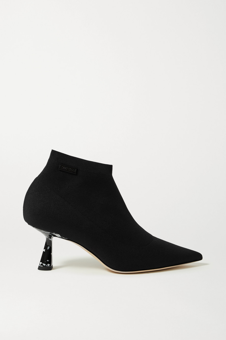 Jimmy Choo Saber 65 stretch-knit ankle boots