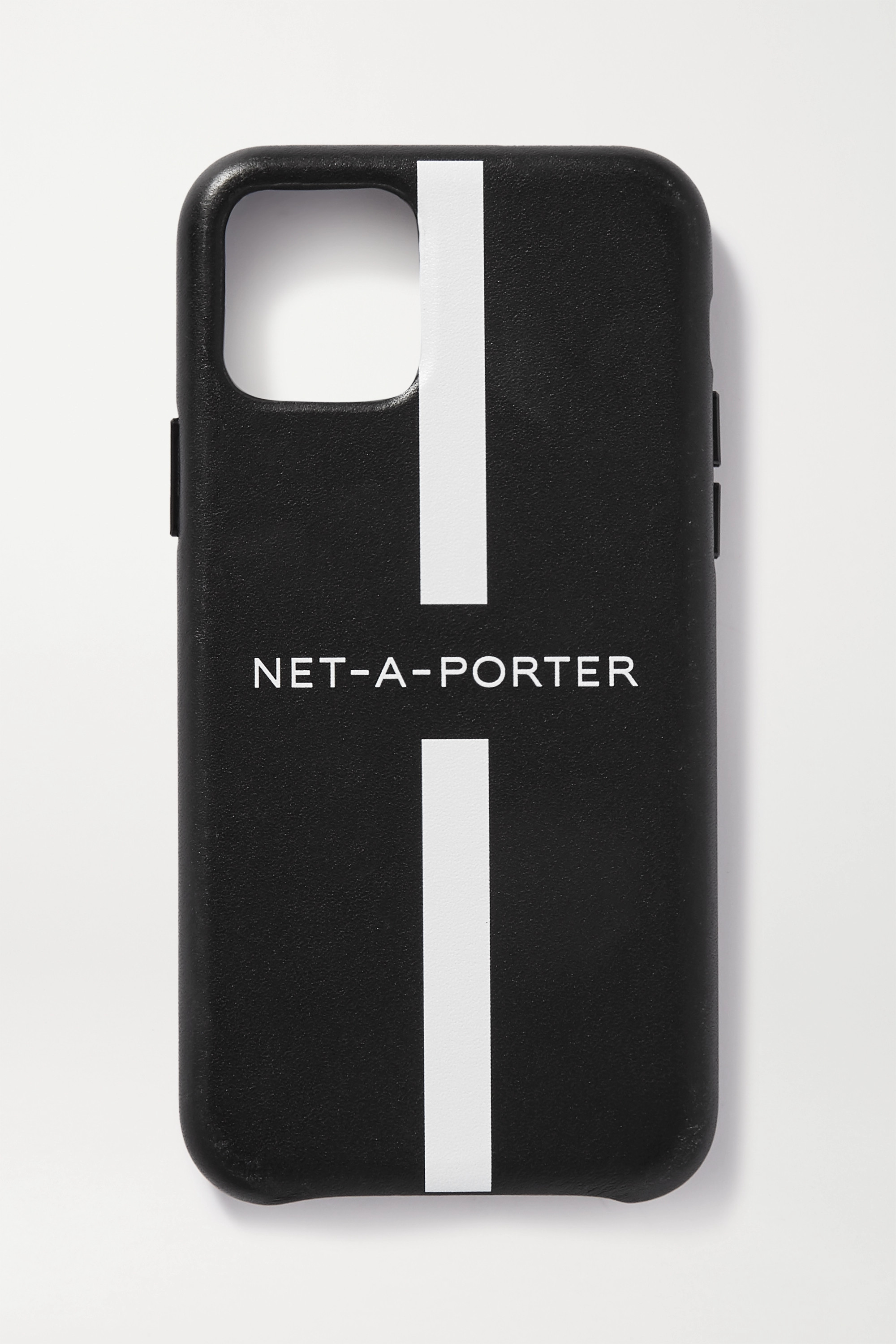 NET-A-PORTER + The Daily Edited printed leather iPhone 11 case