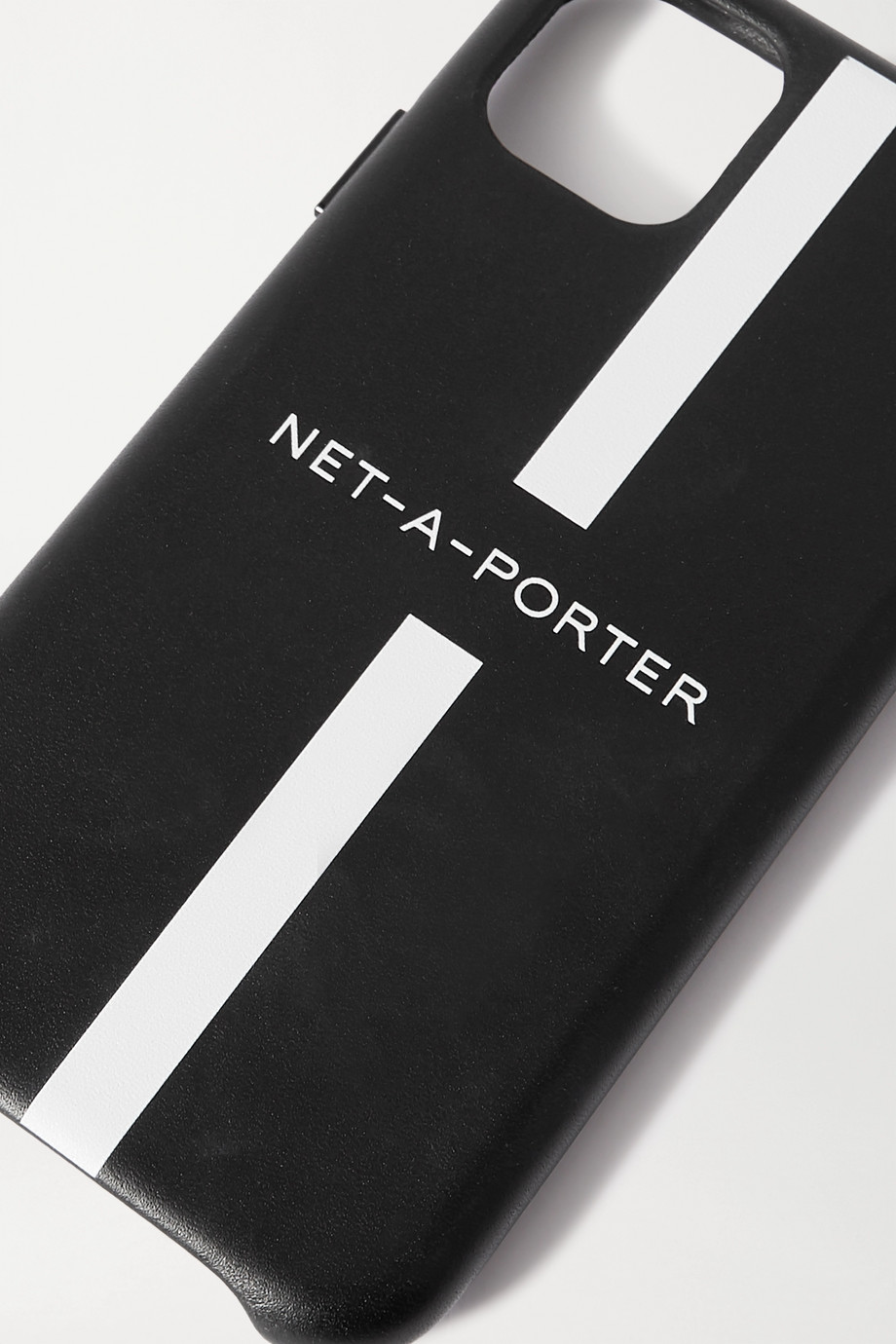 NET-A-PORTER + The Daily Edited printed leather iPhone 11 Pro case