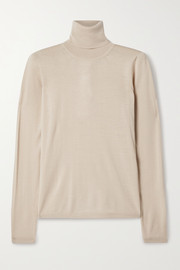 Max Mara Saluto wool turtleneck sweater