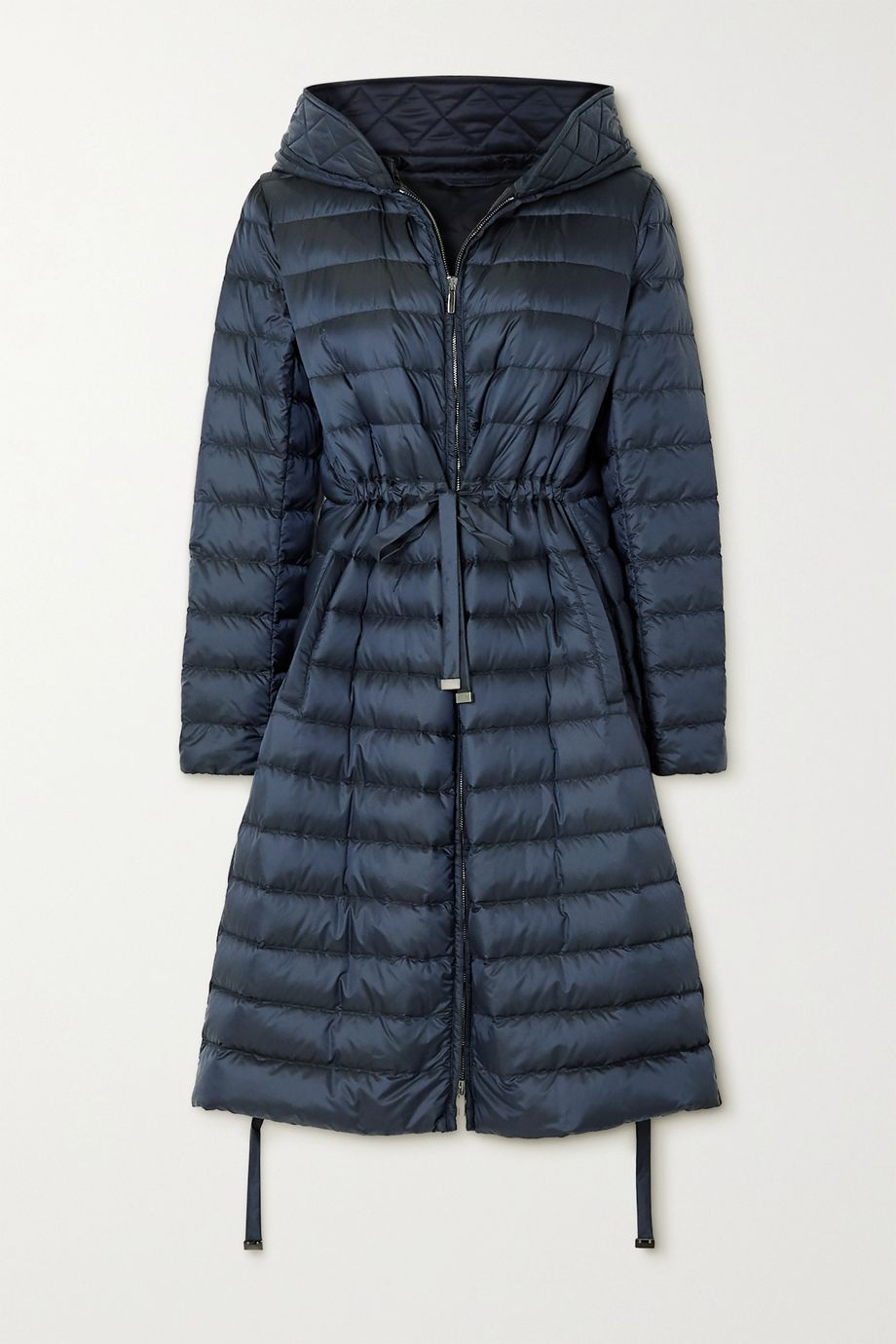 Max Mara The Cube hooded quilted shell down jacket