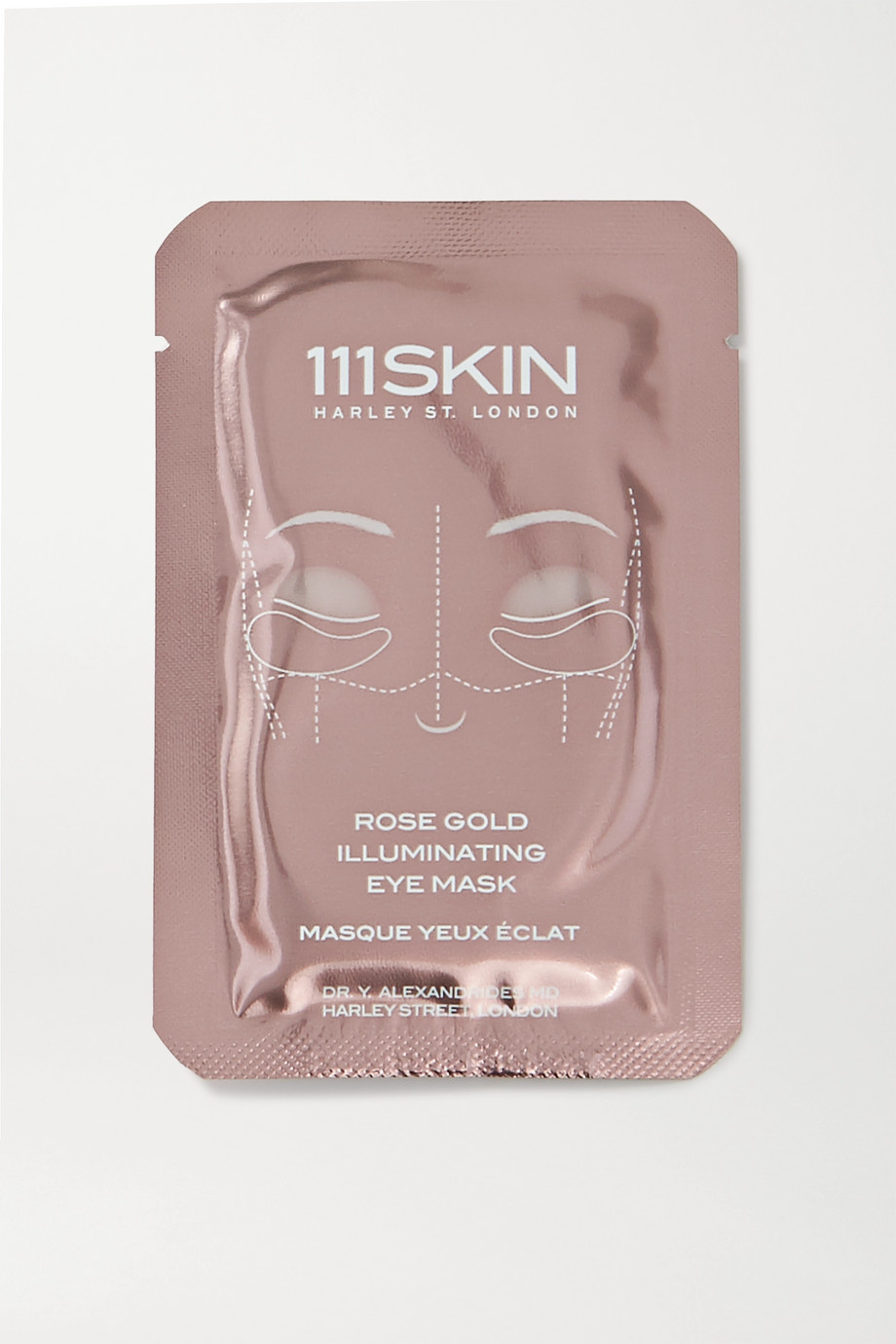 111SKIN Rose Gold Illuminating Eye Mask x 8
