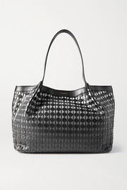Serapian Secret small woven dégradé leather tote