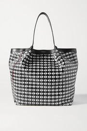 Serapian Secret woven leather tote