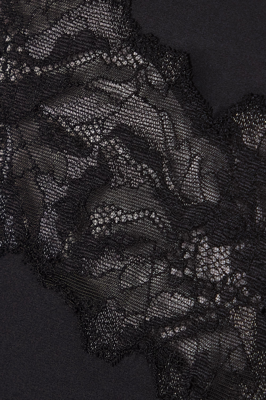 Calvin Klein Underwear Stretch-jersey, lace and tulle briefs