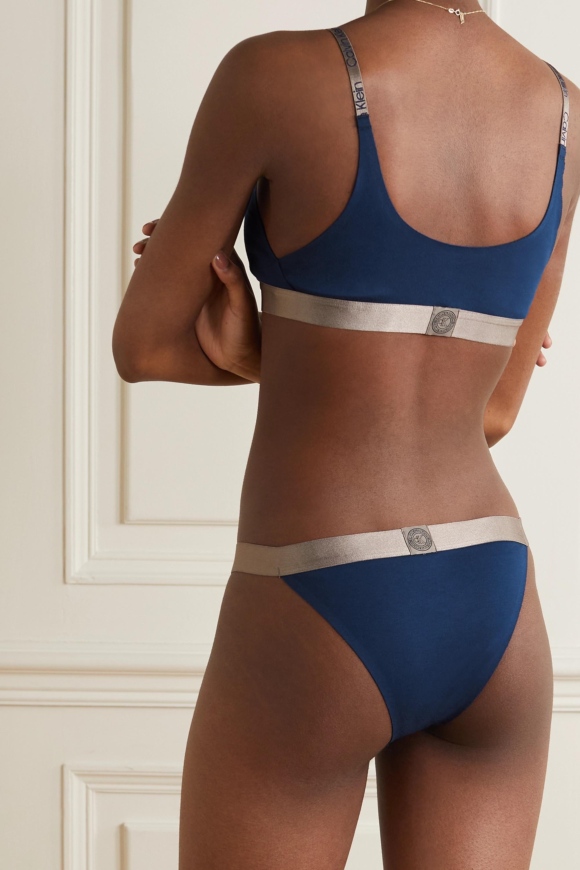 Calvin Klein Underwear Icon metallic stretch-cotton briefs
