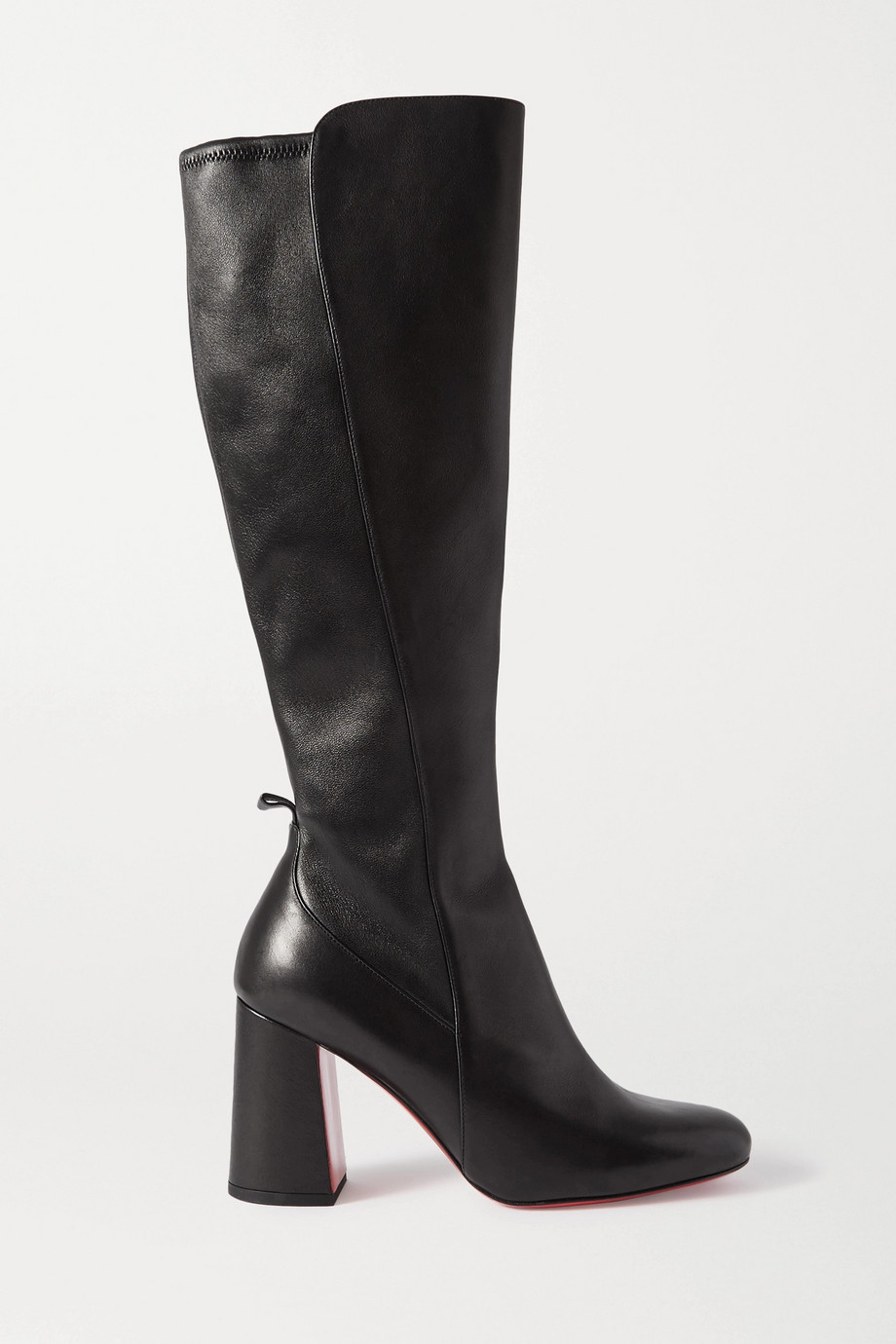 Christian Louboutin Kronobotte 85 leather knee boots