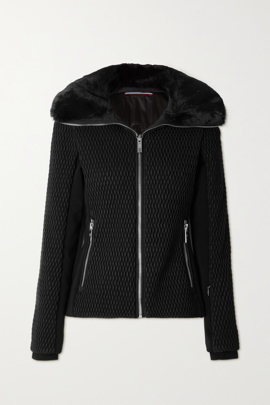 Fusalp Montana IV faux fur-trimmed quilted ski jacket