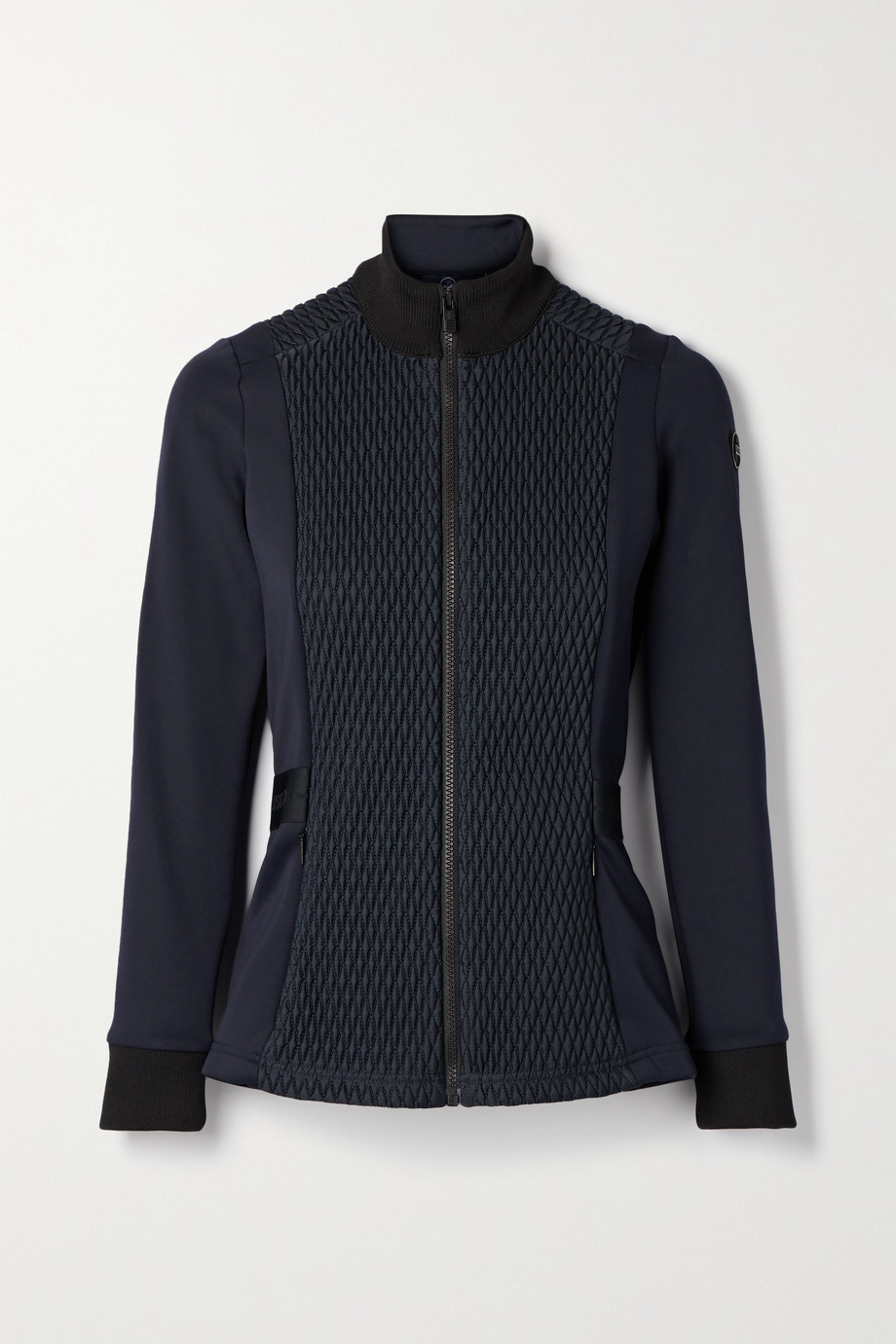 Fusalp Meryl quilted paneled stretch-jersey ski jacket