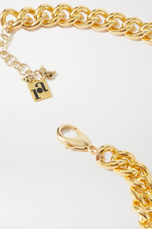 Rosantica Canasta gold-tone faux pearl choker