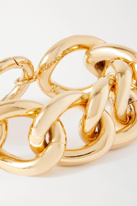 Rosantica Bracelet en métal doré et perle synthétique Canasta