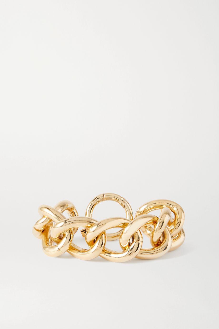 Rosantica Canasta 人造珍珠金色手链