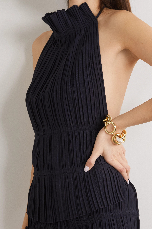 Rosantica Canasta gold-tone faux pearl bracelet