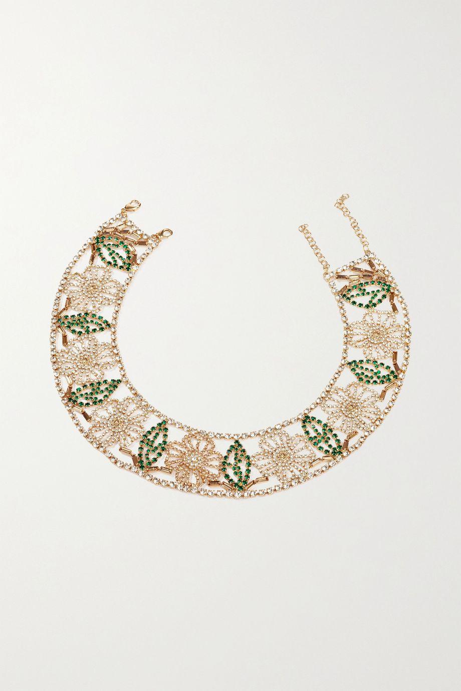 Rosantica 水晶金色项链