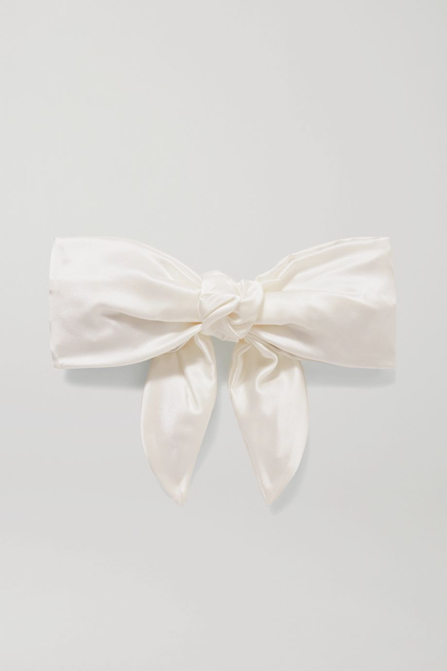 Jennifer Behr Naples silk-charmeuse hair clip