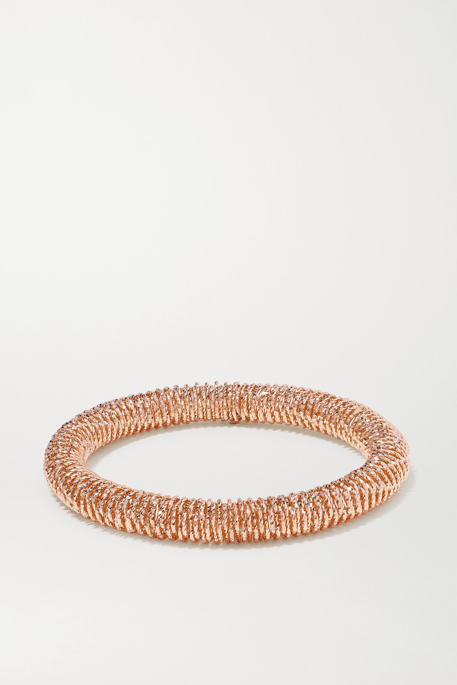 Carolina Bucci K.I.S.S. Small 18-karat rose gold bracelet