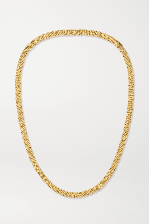 Carolina Bucci K.I.S.S. Kette aus 18 Karat Gold