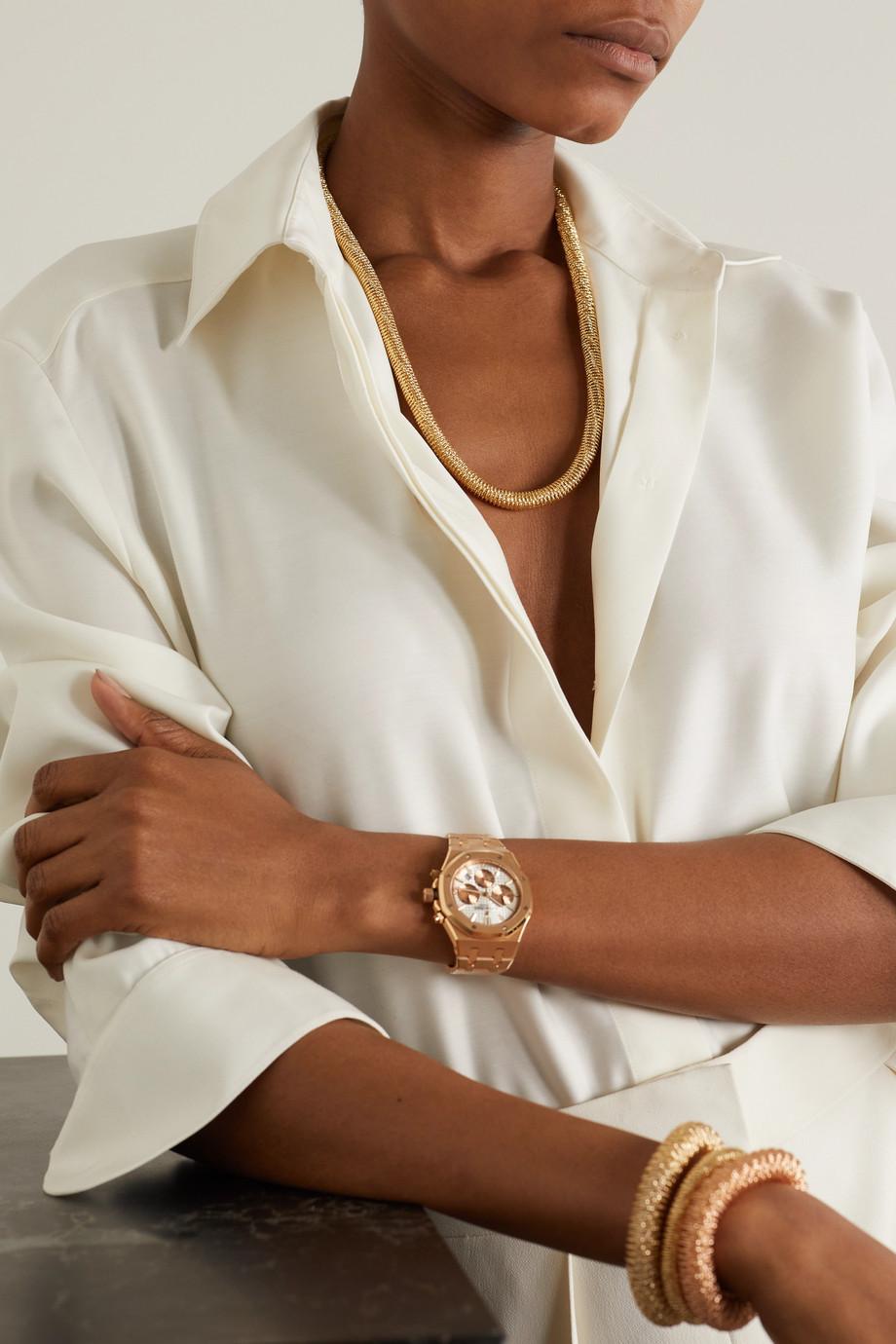 Carolina Bucci K.I.S.S. 18-karat gold necklace