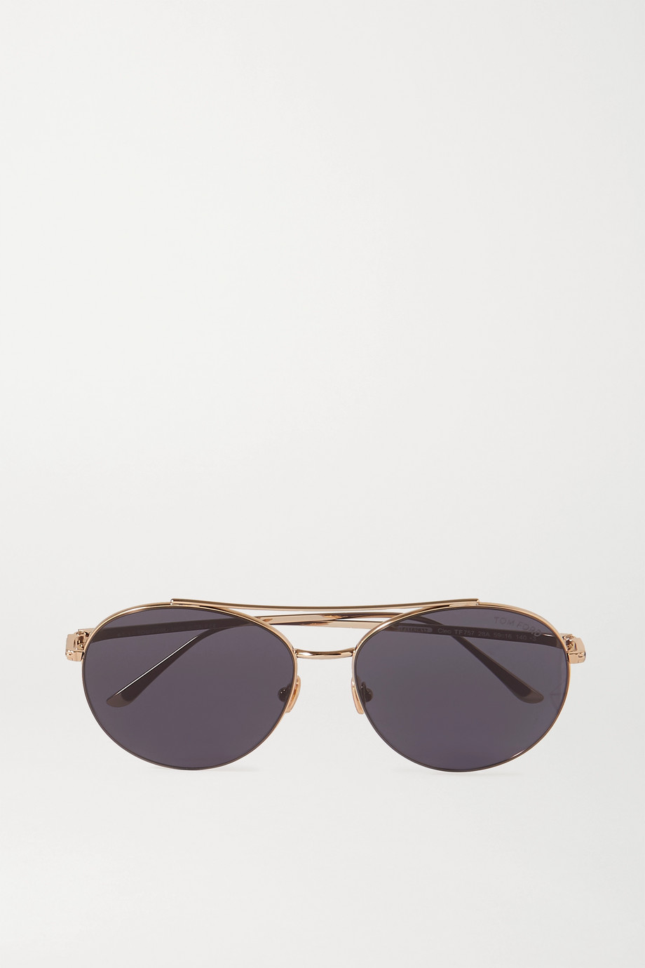 TOM FORD Pilotensonnenbrille in Roségold