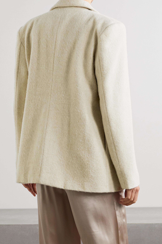 aaizél Brushed wool-blend blazer
