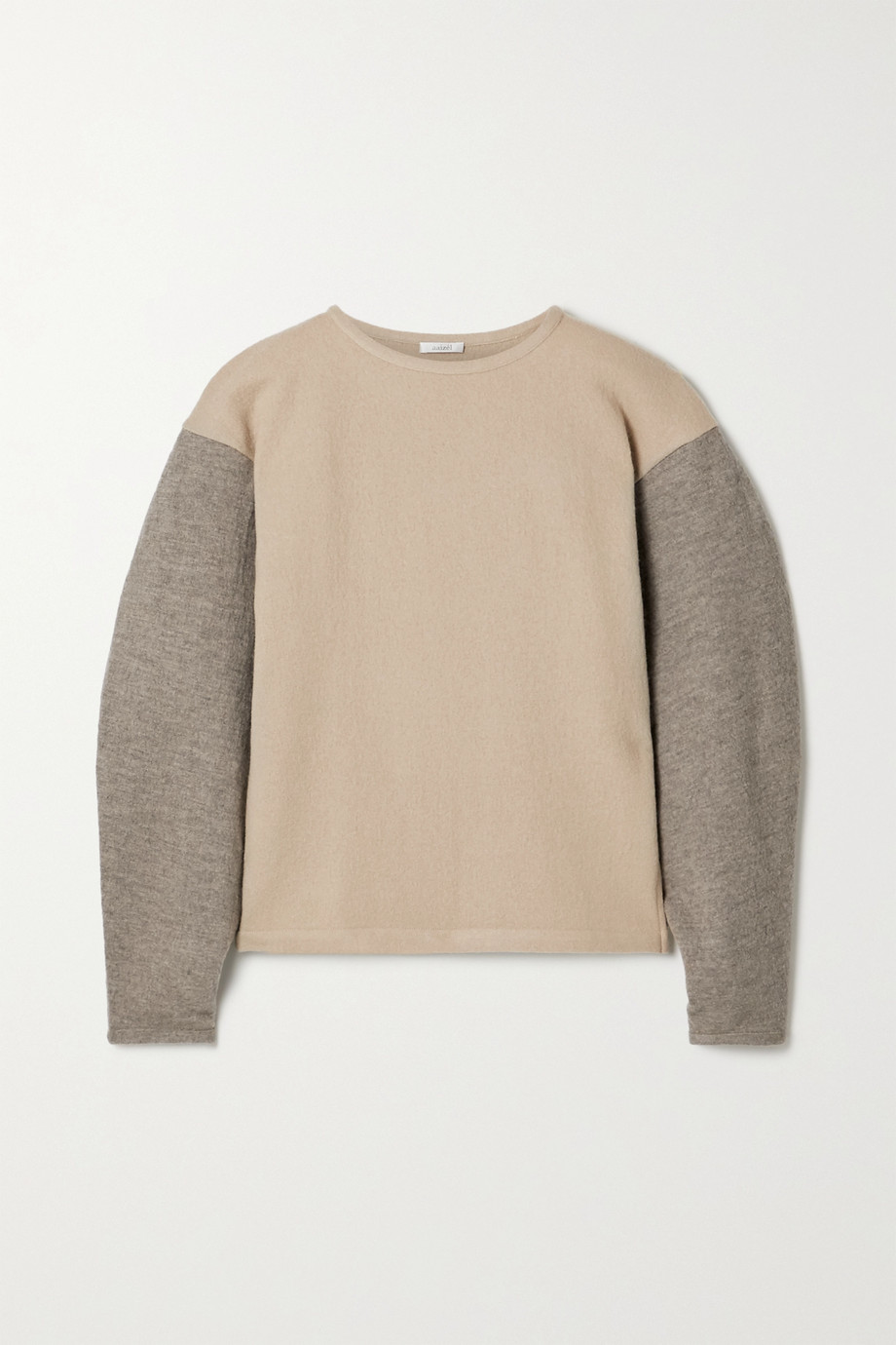 aaizél Two-tone wool sweater
