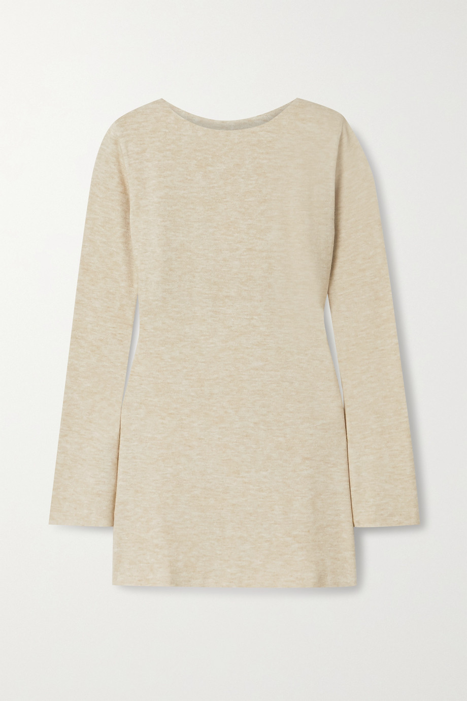aaizél Mélange knitted tunic