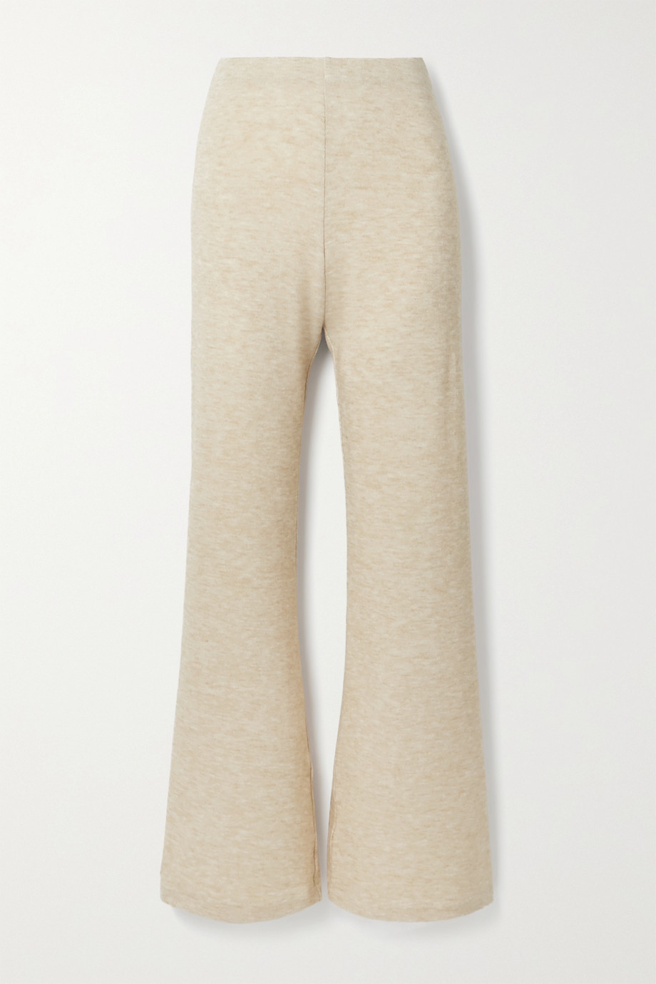 aaizél Mélange knitted flared pants