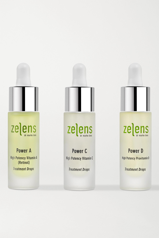 Zelens Power Trio Set, 3 x 10 ml – Set aus drei Hautpflegetropfen