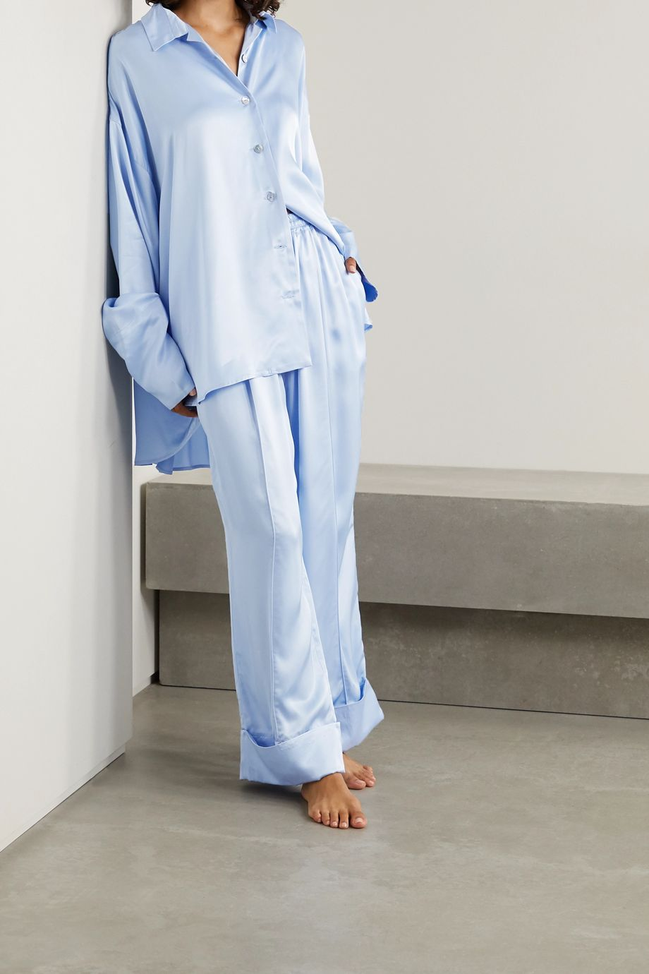 Sleeper Pyjama en satin