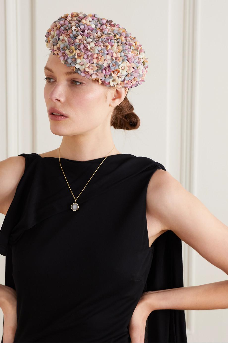 Merve Bayindir Jacqueline embellished sisal hat