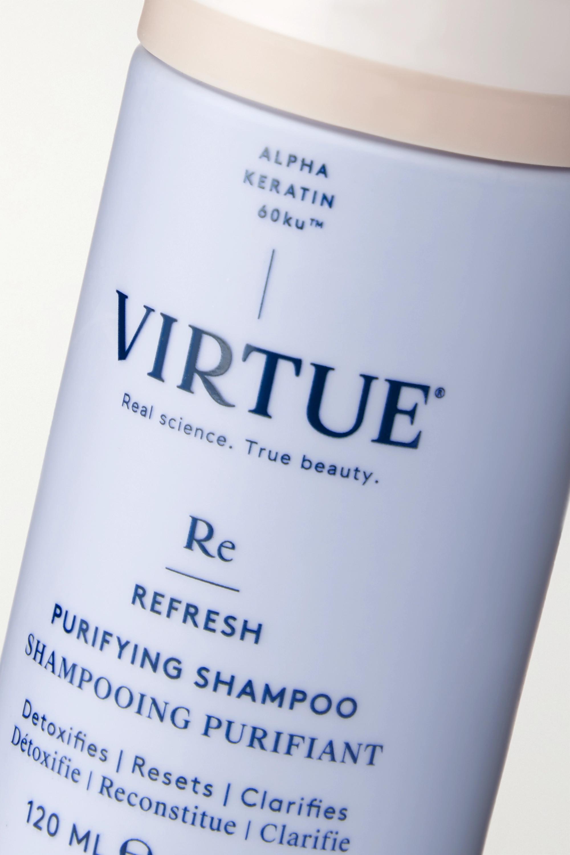 Virtue Refresh Purifying Shampoo, 120ml