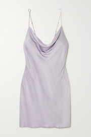 Love Stories Mango draped satin chemise