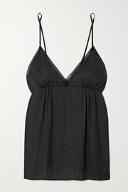 Love Stories Lotty satin-jacquard camisole