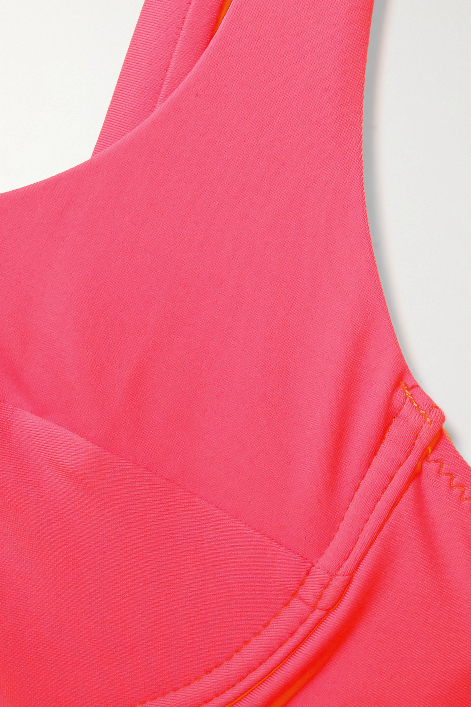 Fisch + NET SUSTAIN Grenadins neon underwired bikini top