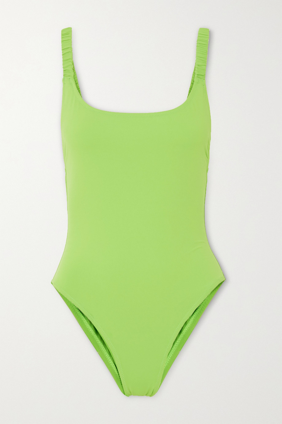 Fisch Select neon swimsuit