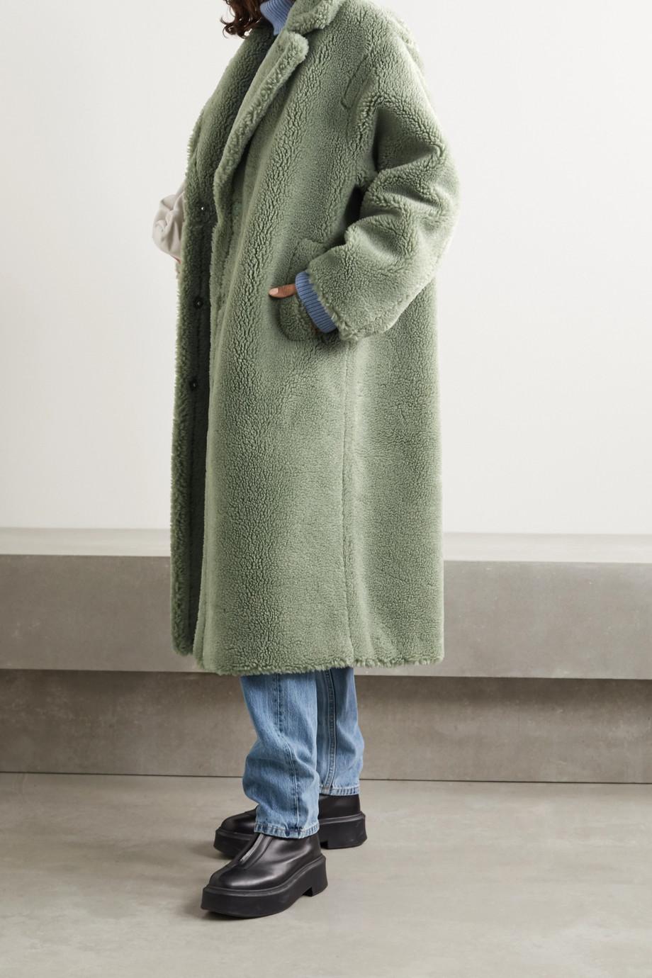 Stand Studio Manteau en peau lainée synthétique Maria