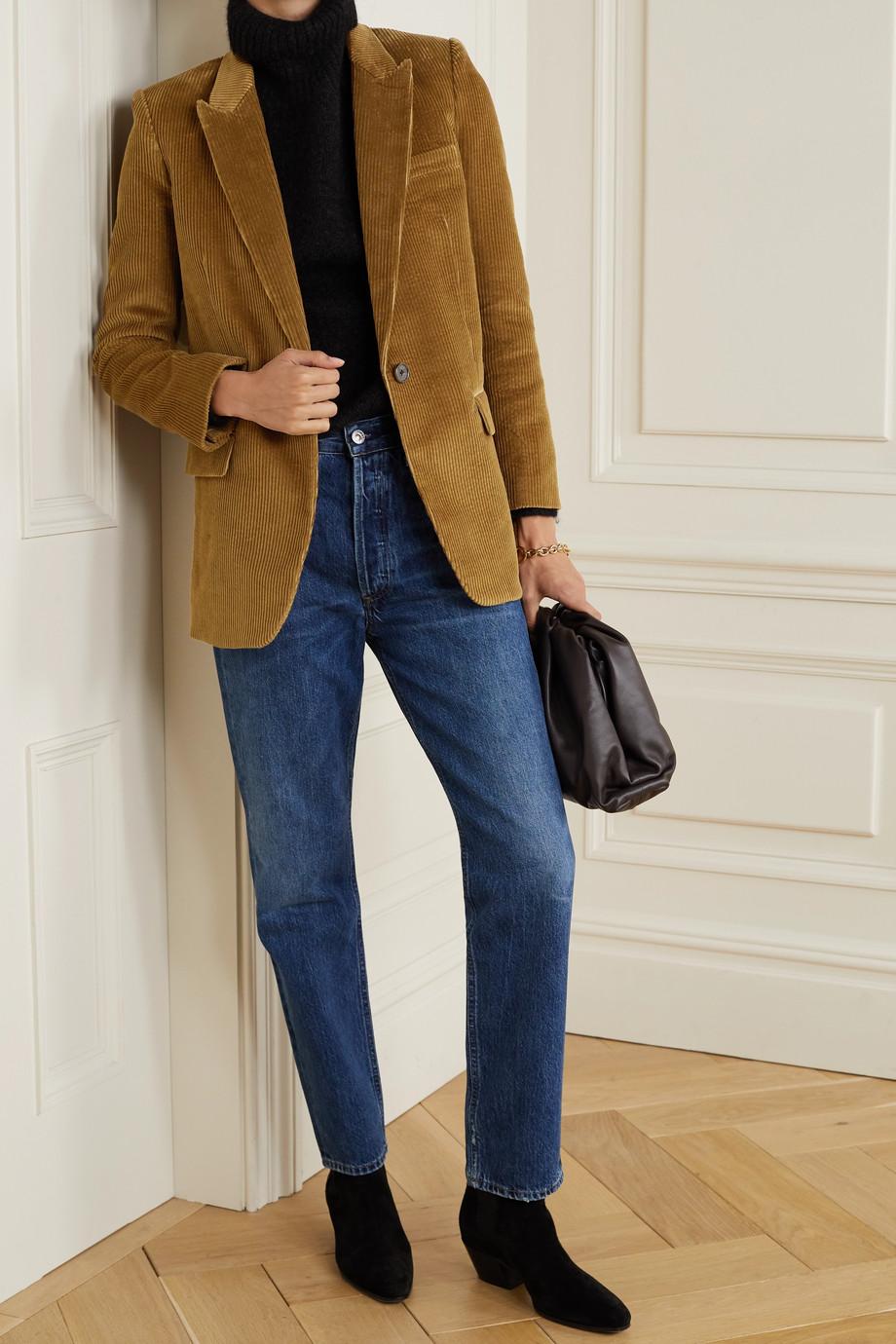 Nili Lotan Diane cotton-corduroy blazer