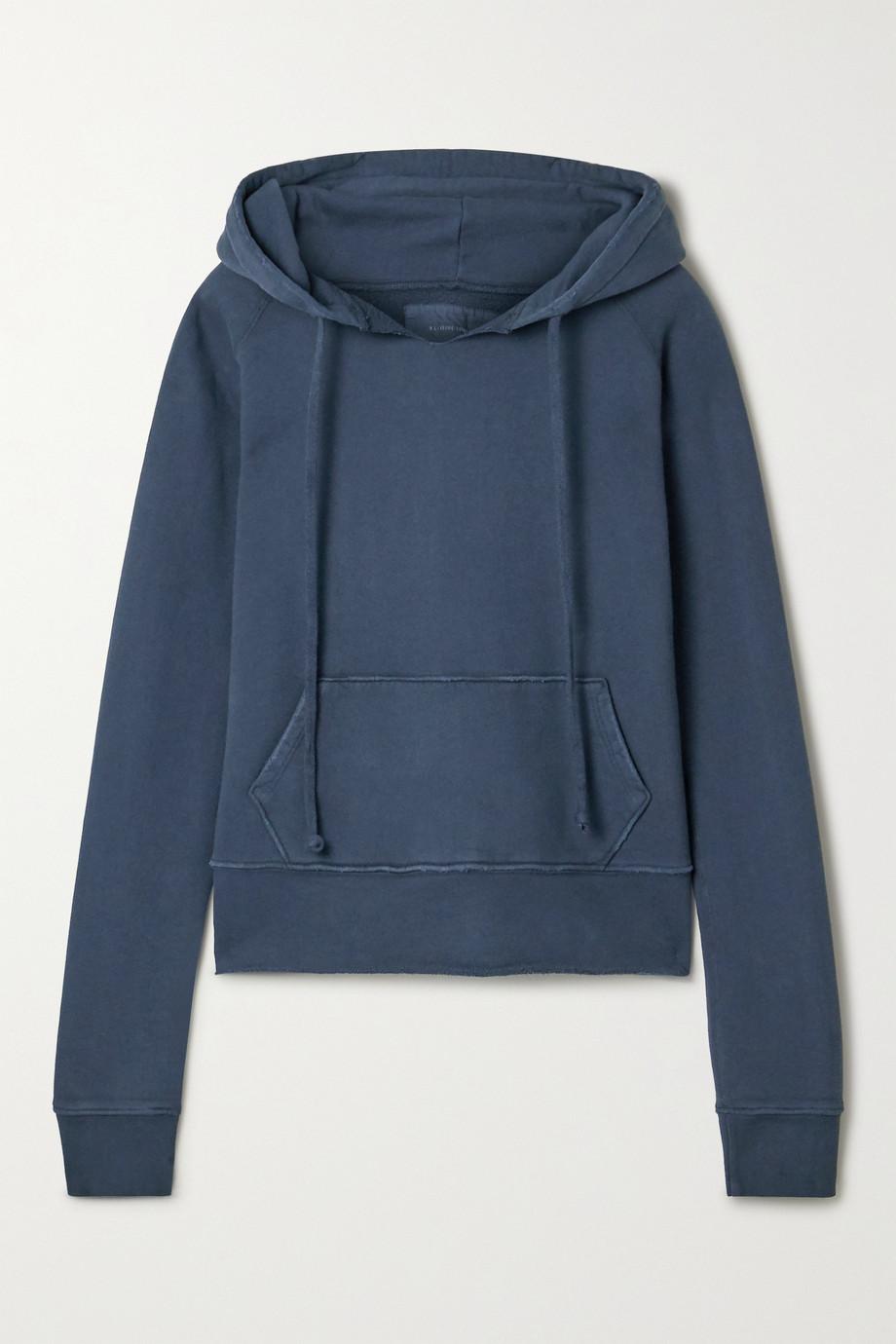 Nili Lotan Rayne cotton-jersey hoodie