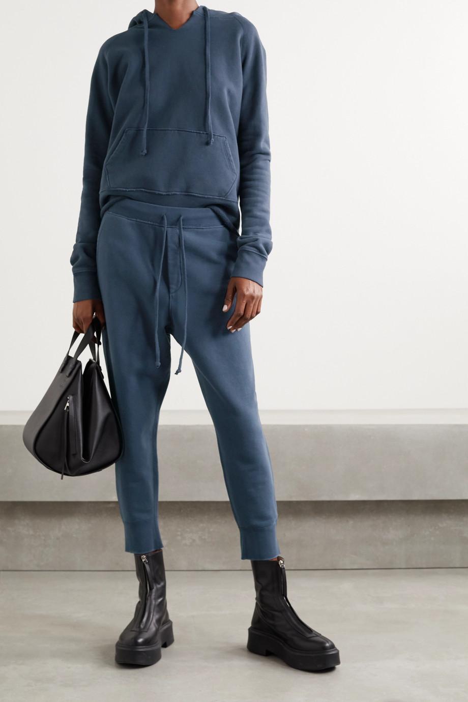 Nili Lotan Pantalon de survêtement raccourci en jersey de coton Nolan